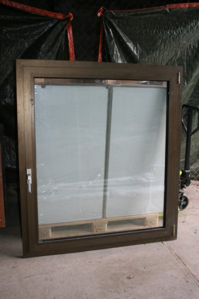 Aluminium fenster incl rahmen 1 fl gel sch co hxb kipp din links ebay - Aluminium fensterrahmen reinigen ...