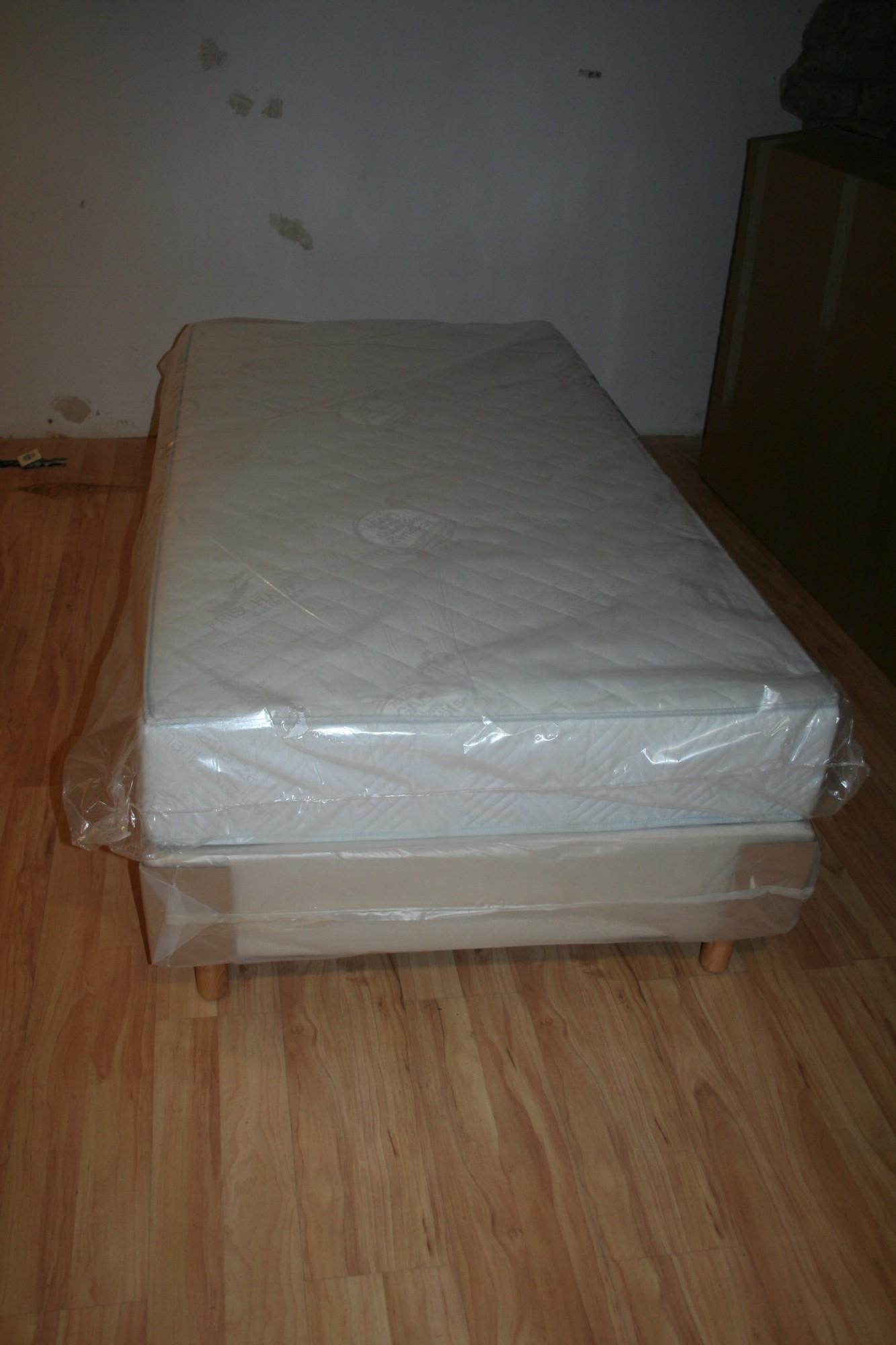 hotelbett boxspringbett 80 90 100 120 x 200cm bett incl matratze topper hotel. Black Bedroom Furniture Sets. Home Design Ideas
